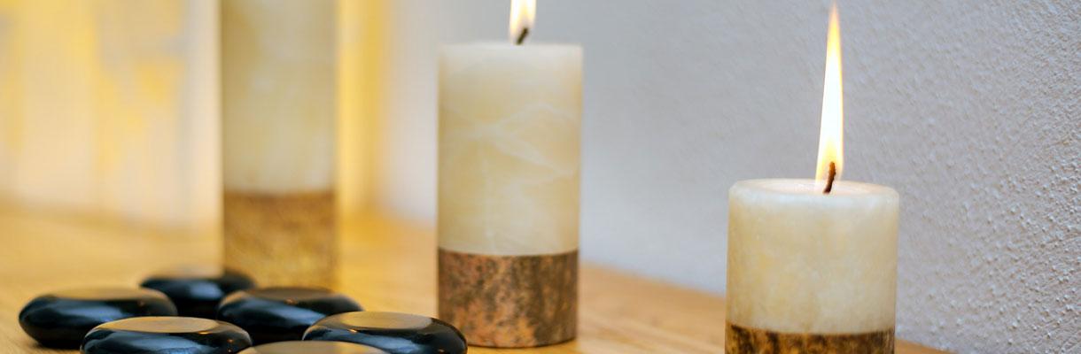 Kerzen, Entspannung